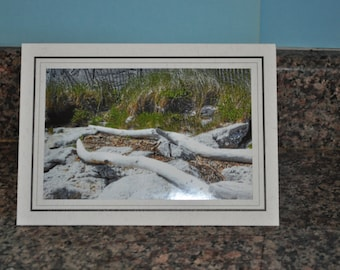 Double Framed Card - Driftwood