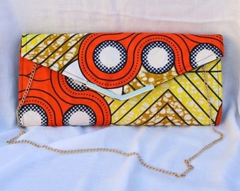 Ankara Clutch Bag