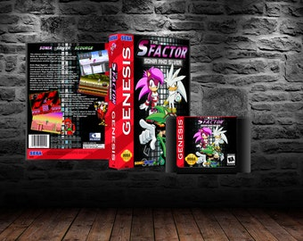 S Factor Sonia and Silver - Speedy Platforming Featuring Psychic Hedgehog and Friends - GEN