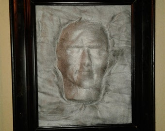 Face in a Frame Wall Decor
