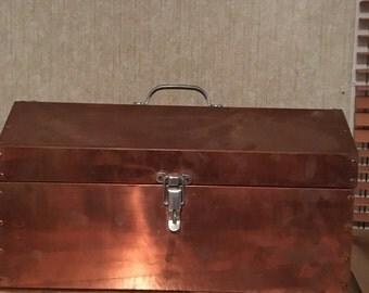 Copper tool box