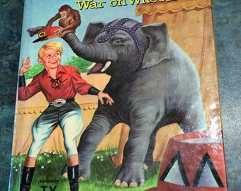 Circus Boy War on Wheels Whitman Hardback Book 1958