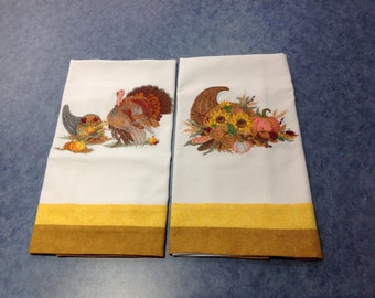 Thanksgiving Kitchen Towels