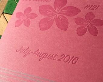 Letterpress zine about Molokai