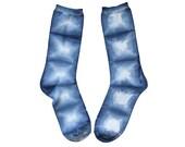 Shibori Indigo Socks
