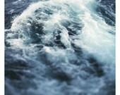 Fine Art Photography - Nature Photograph - Lake - Michigan - Summer - Water - Beach Photograph -  Home Decor - Marine - Blue - Waves