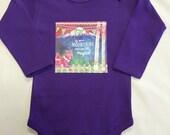 Girl's Purple Mountains Onesie - Baby Shower Gift-L...