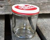 Vintage Skippy Peanut Butter Jar with Lid