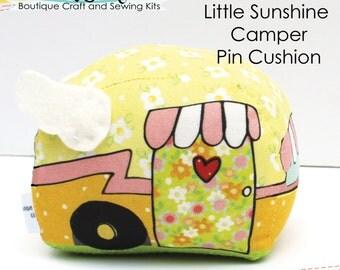 Little Sunshine Camper Pin Cushion - Needlecraft it