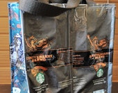 Recycled Tote Bag Starbucks Coffee Bean Bag - Anniversary #116