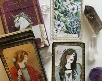 Magic and Manifestation Affirmation Oracle Deck