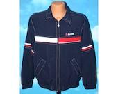 Lotto Boris Becker Full Zip Training Jacket Small Vintage