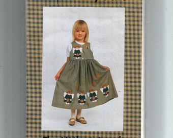 The Littlest Angel Girl Jumper Pattern