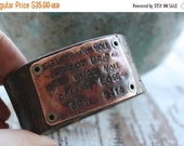 30%OFF SUPER SALE- Stamped Leather Cuff-Phil 3:14 Collection-Scripture Cuff-Personal Gift