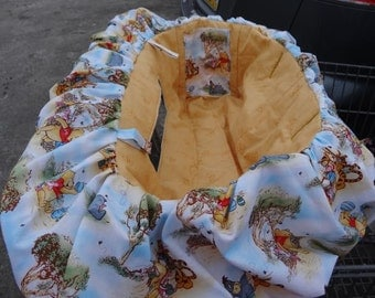 Winnie the Pooh Deluxe Shopping Cart Cover