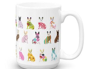 Bulldog Coffee Mug - Funny Mugs - Animal Coffee Mugs - Dog Mugs - Bull Dog Mugs - French Bulldog - Coffee Mug - Dog Gift - Unique Mugs