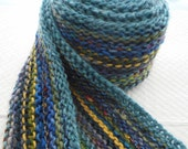 CLEARANCE A Little Bit of This, A Little Bit of That Knit Long Scarf Blues