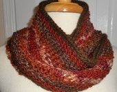 CLEARANCE Moebius Knit Scarf A Little Bit of This and A Little Bit of That The Browns