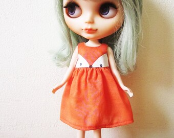 Foxy Dress for Blythe