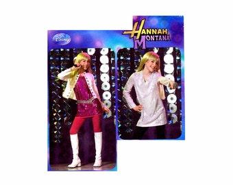 Hannah Montana Rock Star Costume Simplicity 2869 Sewing Pattern Girls Dress or Jumper Size 7-8-10-12-14 UNCUT