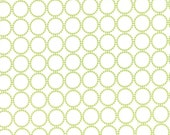 Sundrops - Circled in Celery Green: sku 29014-18 cotton quilting fabric by Corey Yoder for Moda Fabrics - 1 yard