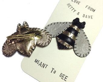 Bumble Bee Hairslide