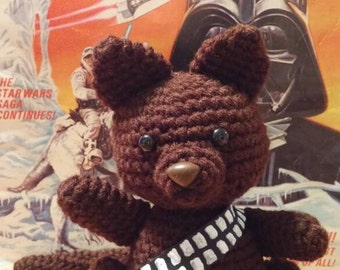 Amigurumi Chewbaccat Star Wars Inspired Kitty Plush
