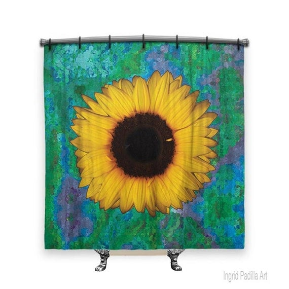 Sunflower Shower Curtain Shower Curtain Shower Curtains