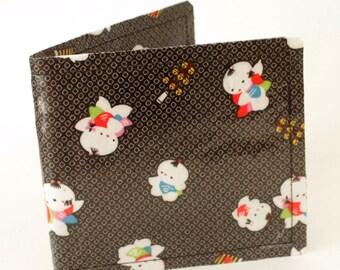 Kawaii Japanses Babies Wallet, Credit Card Wallet, Geek Wallet, Kawaii Wallet, Chibi Wallet, Cute Wallet, Baby Wallet