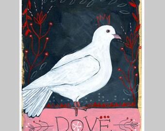 Animal Totem Print - Dove