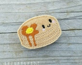 Pancake Stack Feltie- Planner Clip, Magnet or Hairclip (bookmark, planner or journal clip)
