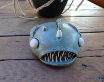 The GIANT Angler Fish Desk Pet