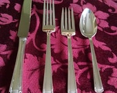 Valentine Sale: Sterling Silver John and Priscilla Place Setting by Westmorland