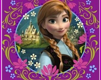 Disney Frozen Anna Luncheon Napkins- Set of 16 New-13inch