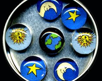 Celestial Magnet Set