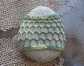 Crochet Lace Stone, Table Decoration, Home Decor, Handmade, Original, Nature, Folk Art