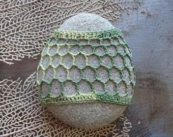 Crochet Lace Stone, Table Decoration, Home Decor, Handmade, Original, Nature, Folk Art