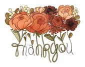 Thank You Cards / Floral