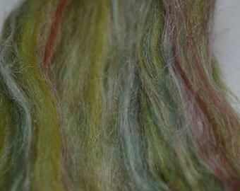 Merino and Tussah Silk- Green