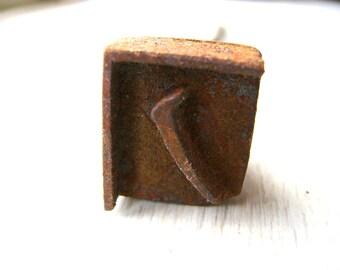 Vintage Branding Iron - Japanese Branding Iron - Yakiin - Yakin -  Branding Iron - Metal Stamp - Japanese Stamp - NO Katakana F39