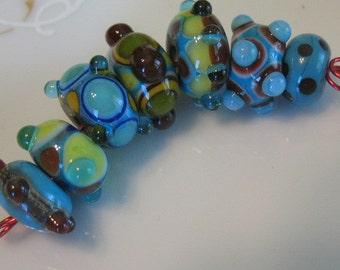 Lampwork beads-handmade lampwork-beading supplies-handmade glass beads-SRA beads-loose beads-bead sets