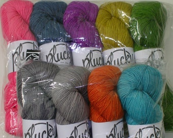 Sale The Plucky Knitter Crew - Ltd Edition QPP Anniversary Colors - 9 Skeins