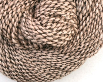 Middlefield Hand Dyed aran weight wool alpaca blend 200 yds 4oz Steel Cut Oats