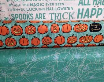 Witch Hazel - Fabric By Riley Blake - Fat Quarter Set - 3 Prints - 7.50 Dollars