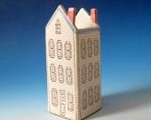 Small Ceramic House Vase