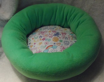 Believe, Faith, Love  - Cat or Small Dog Bed