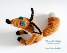 Crochet Pattern - The Little Prince Fox