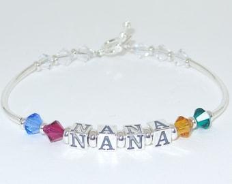 Sterling Silver Nana Bracelet
