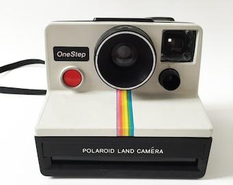 vintage onestep polaroid land camera