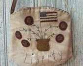 Appliqued Liberty Pocket
